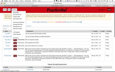 PhantomNet — Emulab